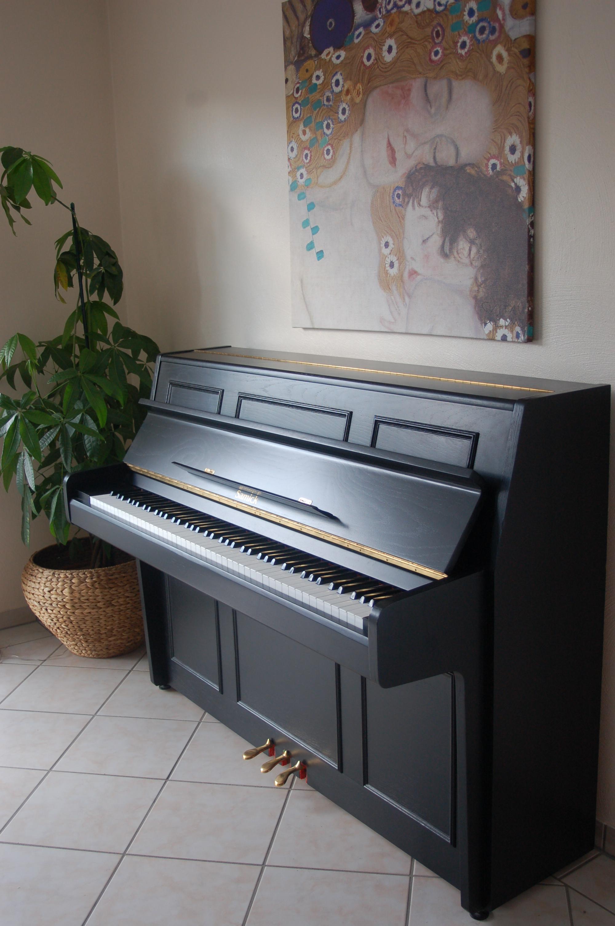 Traumhaftes sehr gepflegtes Samick Klavier schwarz
