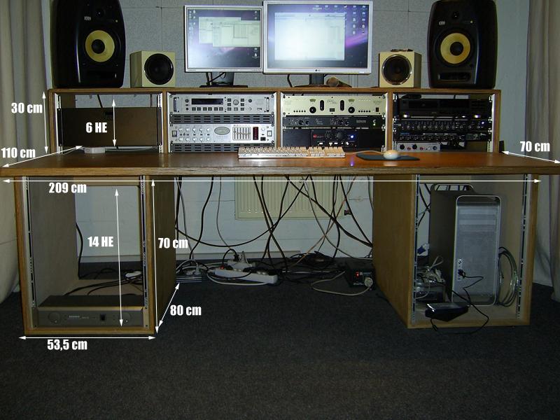 tonstudio tisch