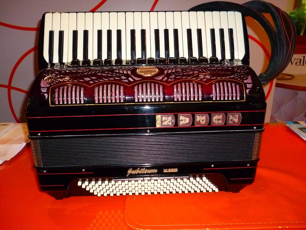 Akkordeon Zupan Jubilaum Akkordeon Folk Modell