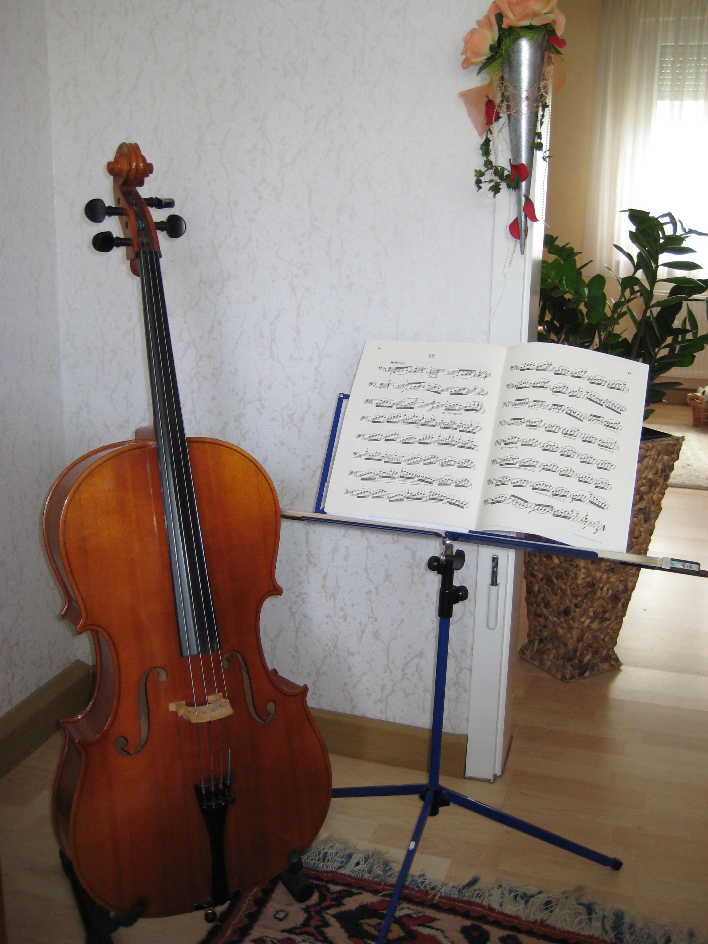 Cello 3 4 sehr guter Zustand zu verkaufen